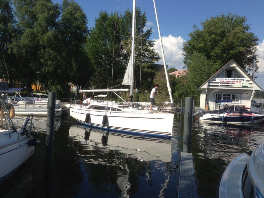 Segelyacht ab Potsdam chartern